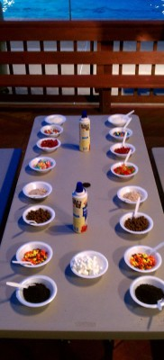 Toppings Table